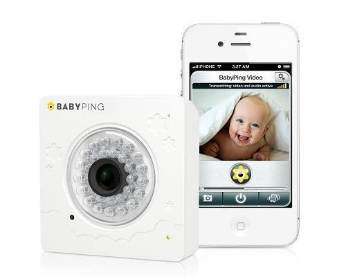 BabyPing, el video monitor para controlar a tu bebé