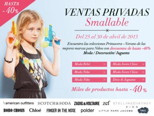 ventas privadas smallable