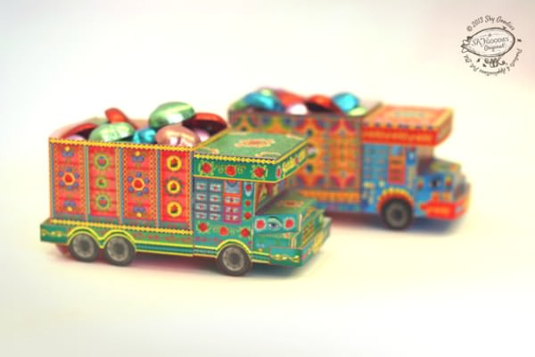 DIY Paper Indian Truck Toy - Sky Goodies