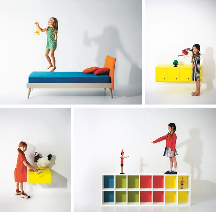 Nidi incre bles muebles infantiles de dise o by for Muebles infantiles diseno